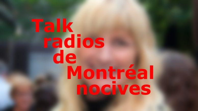 talk radios de Montréal nocives pour la santé mentale