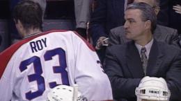 Patrick Roy et Mario Tremblay, soir du 2 décembre 1995