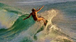 Ça surfe sur le lac des Deux-Montagnes