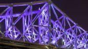 Pont Jacques-Cartier illiuminé