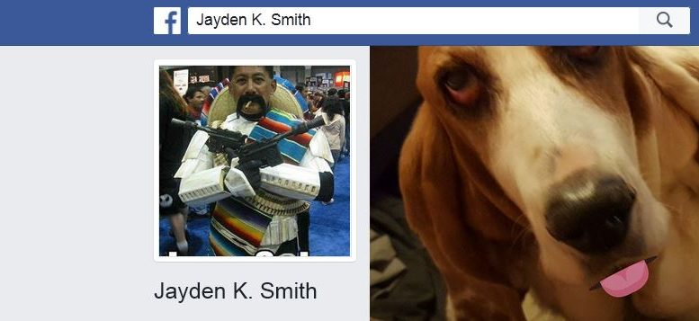 Profil Facebook de Jayden K. Smith
