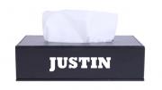 Le papier-mouchoir Justin, bientôt disponible au Canada