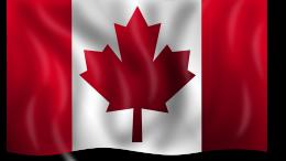 Drapeau du Canada dont l'hymne national est le O'Canada