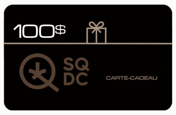 Carte-cadeau SDQC