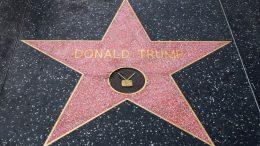 étoile de Donald Trump